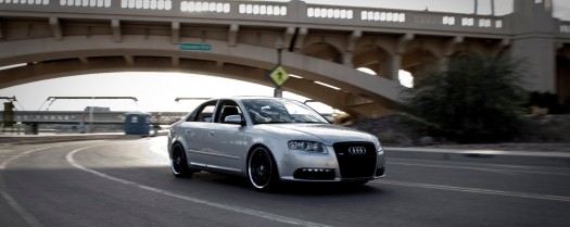 Dual Monitor Wallpaper & Backgrounds of Modified Audis  (2560×1024)