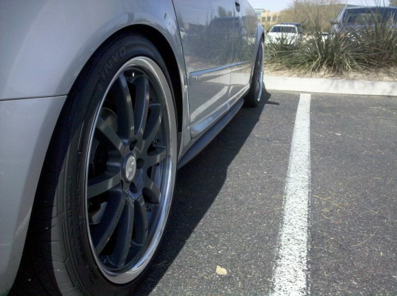 Teaser Shot: DTH Fiberglass Side Skirts