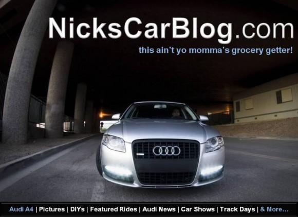 Become a Fan of Nick's Car Blog on Facebook & Twitter