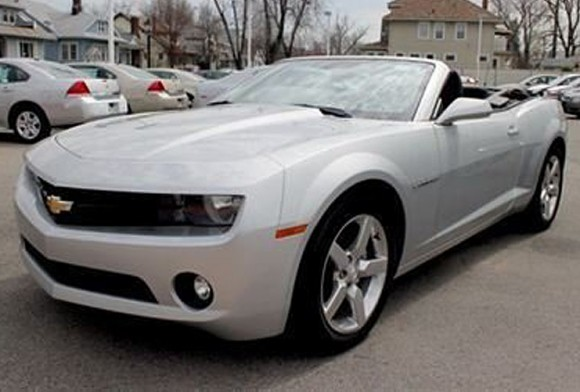 Renting A 2011 Chevrolet Camaro Convertible A Weekend As