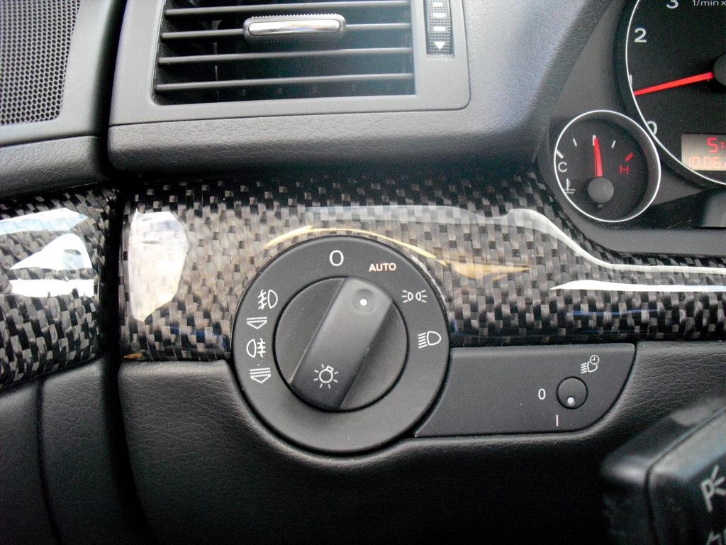 custom carbon fiber filler plate by ocarbon nick 39 s car blog. Black Bedroom Furniture Sets. Home Design Ideas