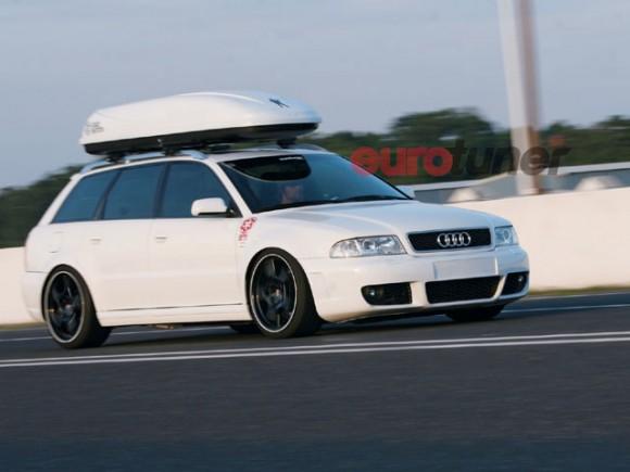 Audis on Porsche Wheels – Nick's Car Blog