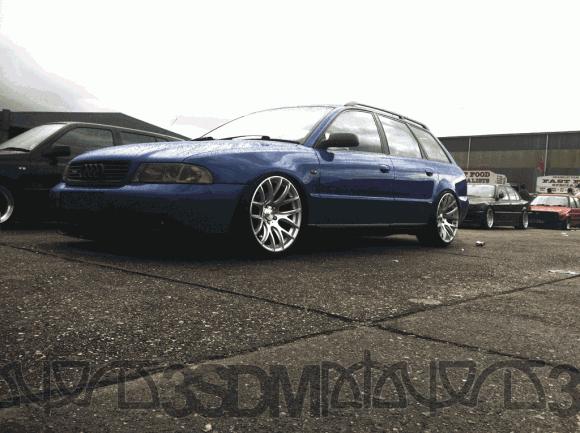 b5 Audi A4 Avant with 3SDM wheels