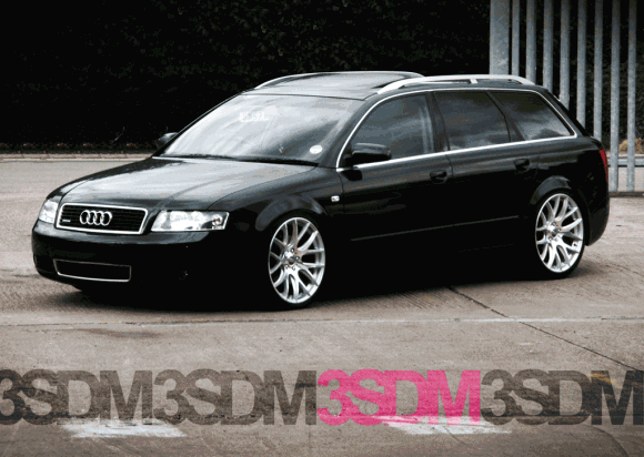 B6 Audi A4 Avant on 3SDM wheels