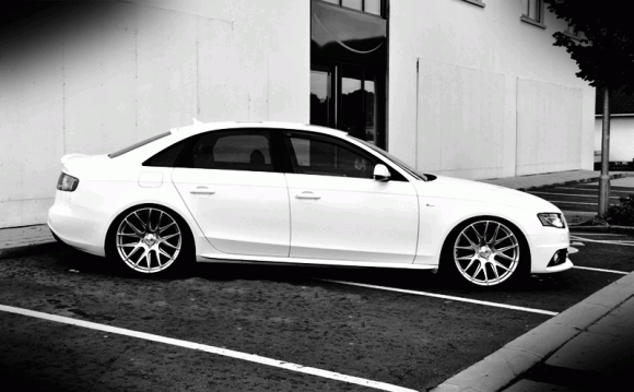 b8 Audi S4 on 3SDM Wheels