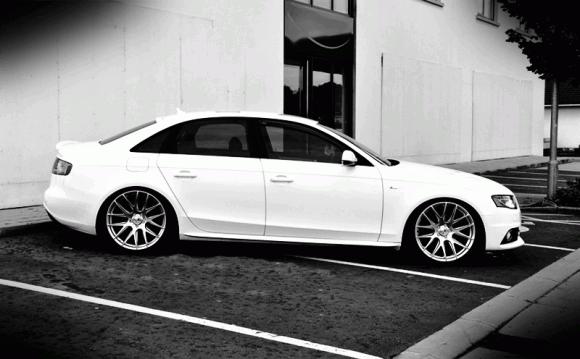 b8 Audi S4 on 3SDM Wheels