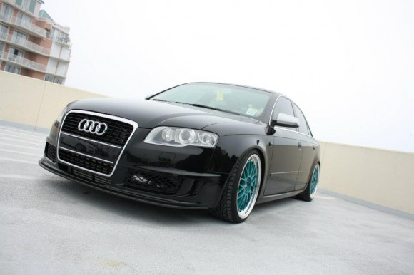 Stevens DTM A4 on BBS LMs