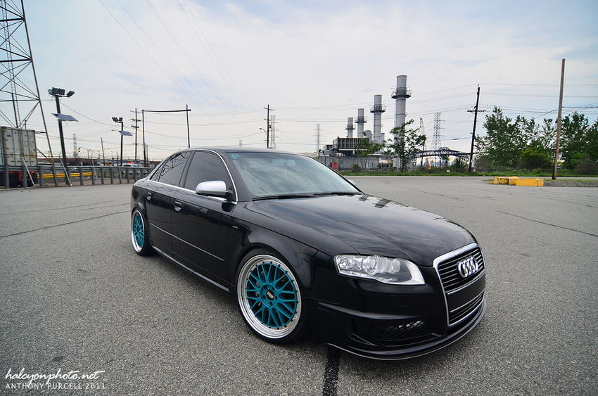 Featured Ride: Steven's B7 Audi A4 DTM on Teal BBS LM Wheels
