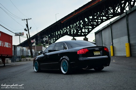 Stevens 2008 Audi A4 DTM on BBS LM