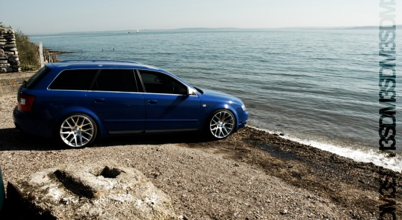 B6 Audi A4 Avant - 3SDM Wheels