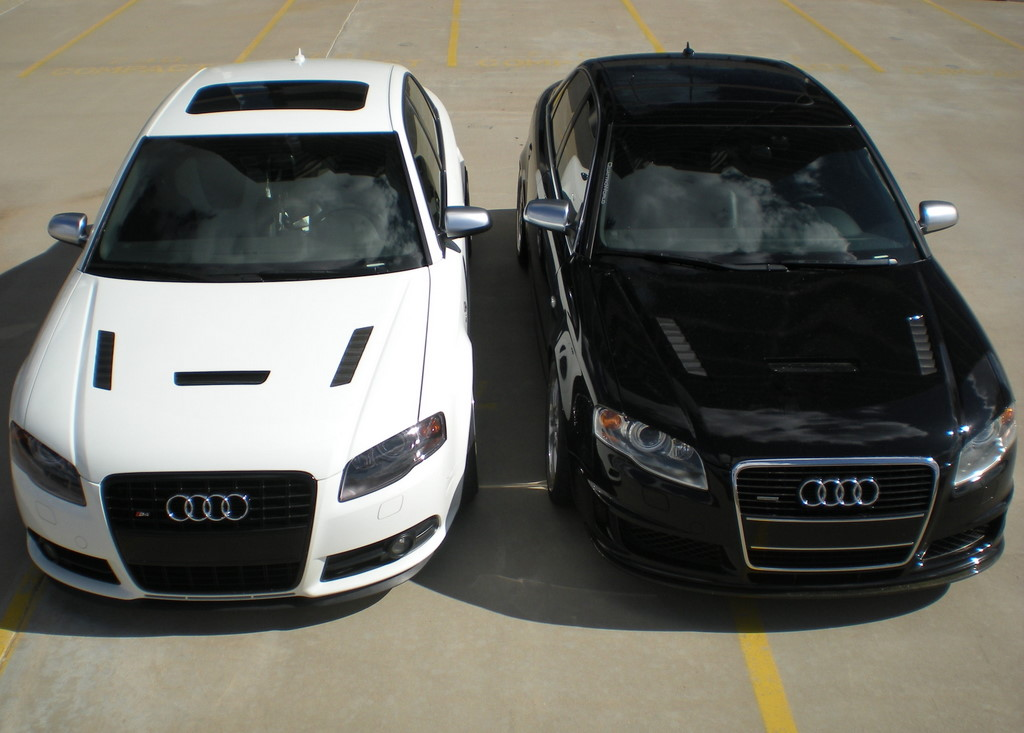 Black & White B7 S4s – Double Double Featured Rides