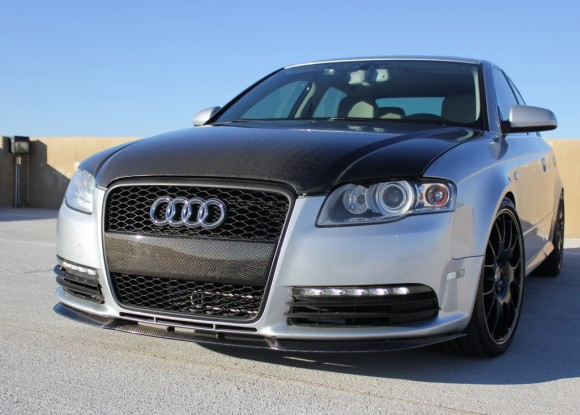 B7 Audi A4 Carbon Fiber Lip