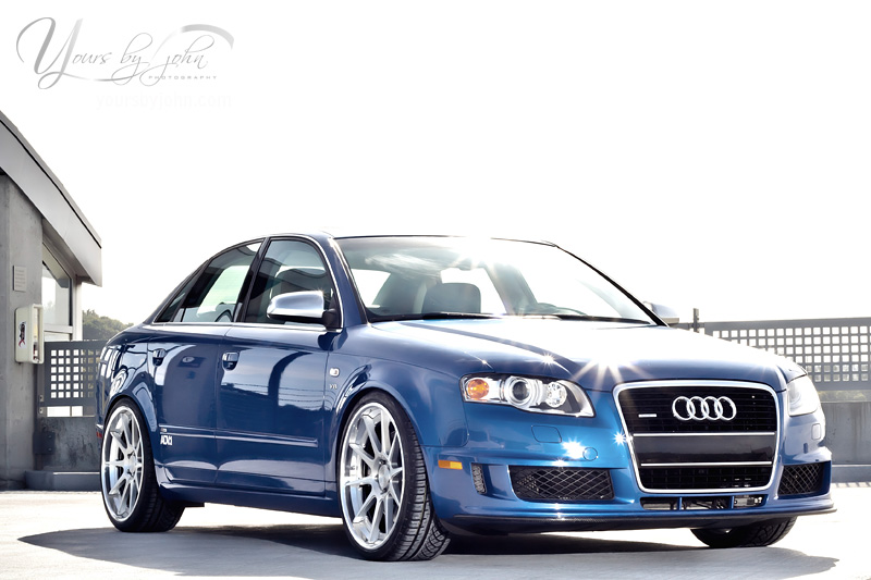 Featured Ride: B7 Audi S4 DTM on 20″ ADV.1s