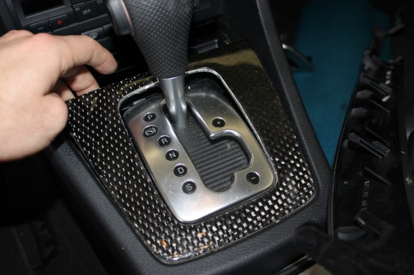 B6/B7 Trim Removal Guide - Shifter Removal