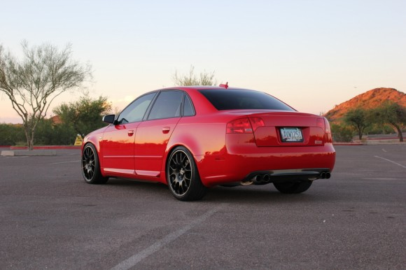 My B7 Audi S4