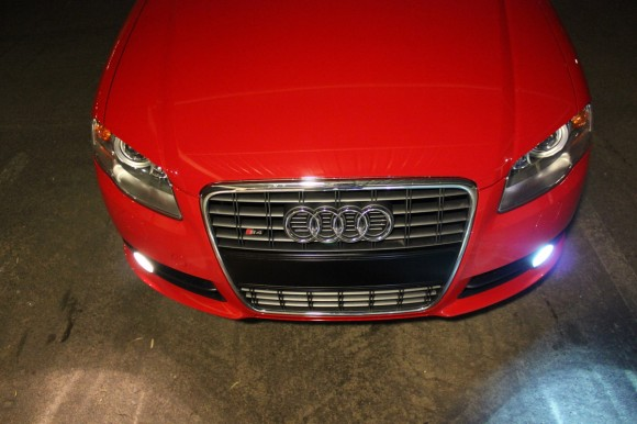 B7 S4 HID Fogs - Before &amp; After