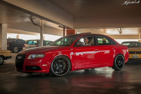 My Audi S4 on STaSIS Ohlins SL