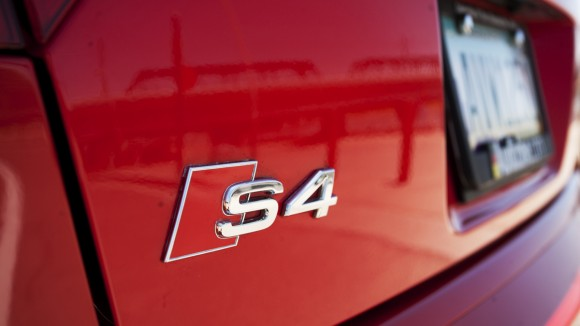 Audi S4 Badge