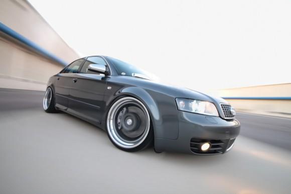 Audi S4 Rolling Shot