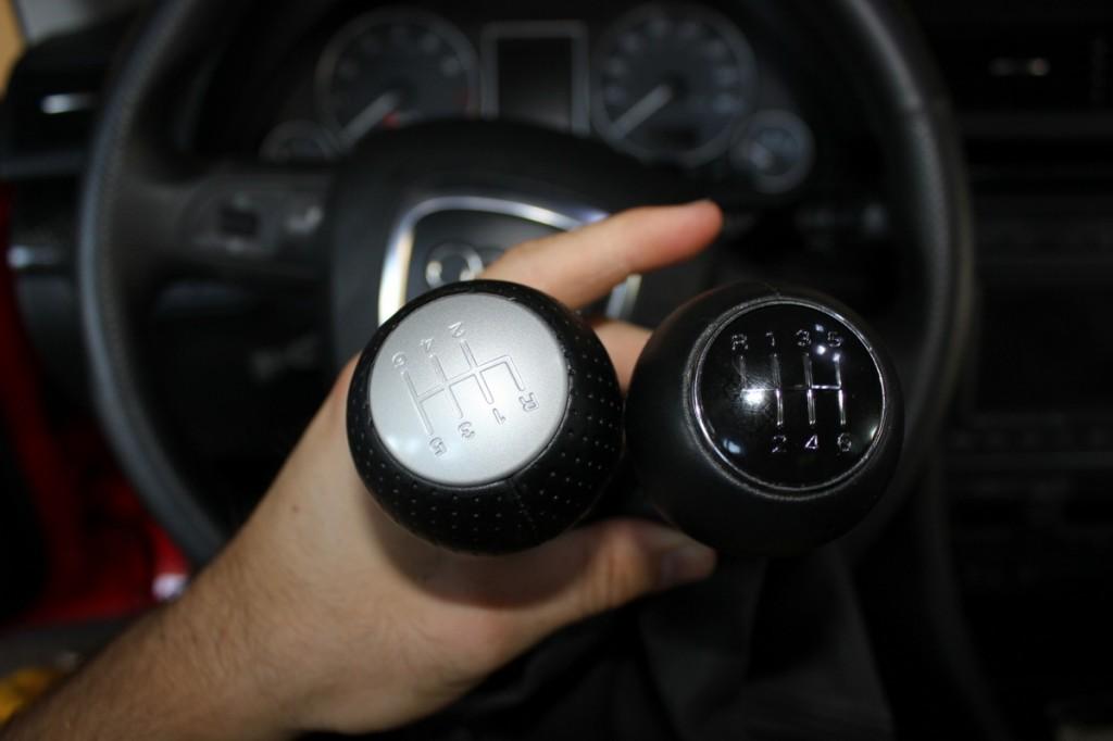 RS4 vs S4 Shift Knobs