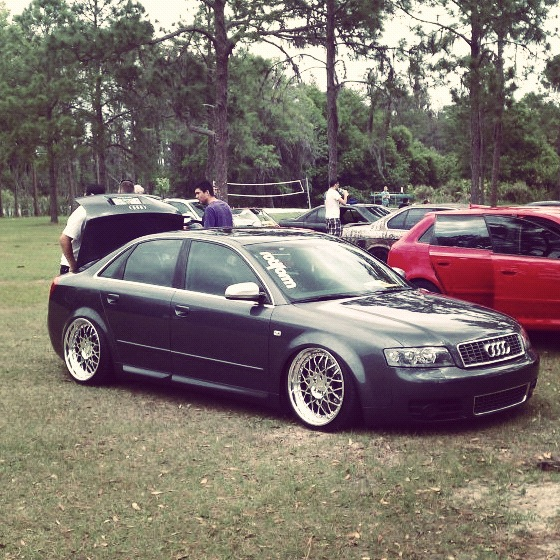 Featured Ride: IENrok1's Stanced & Bagged B6 Audi S4