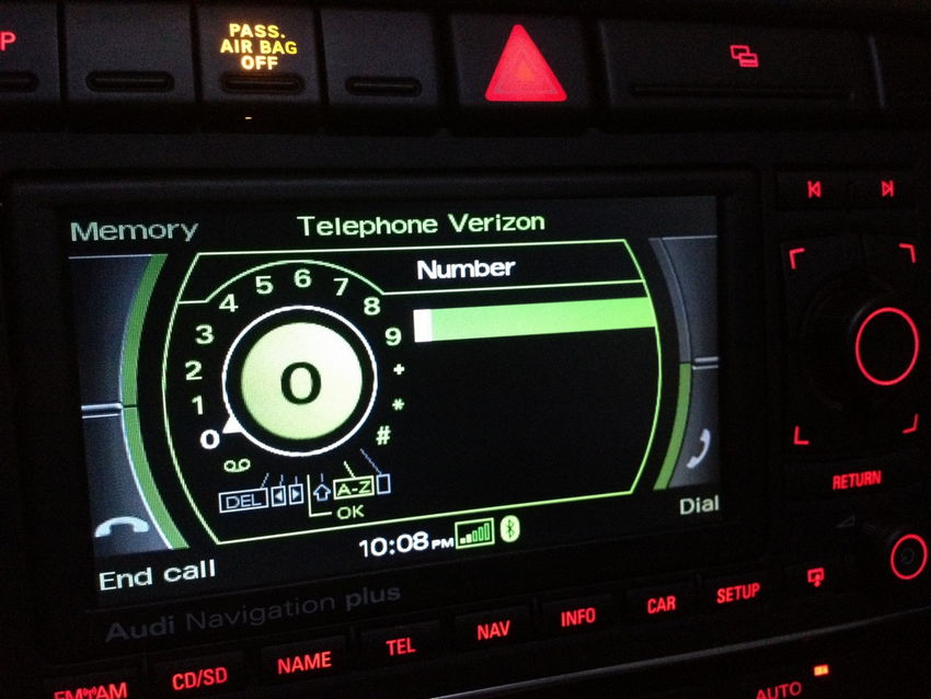 FISCON Bluetooth Retrofit – Audi A4/S4 with RNS-E