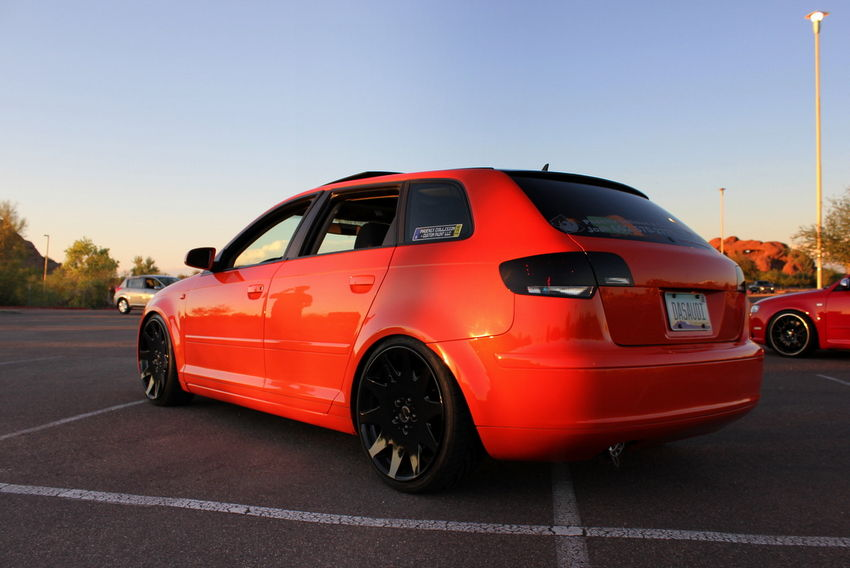 Josh's Candy Orange 2006 Audi A3 'DAS AUDI'