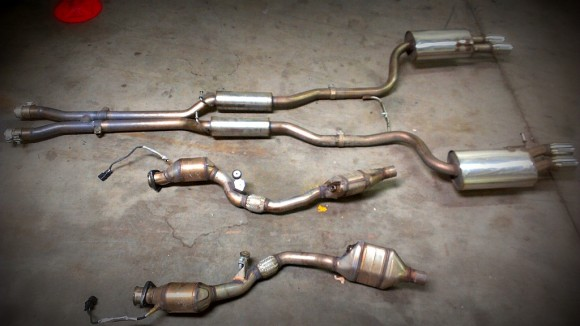 Catalytic Converter Buyers >> B6/B7 Audi S4 Piggie Pipes / Downpipes – Nick's Car Blog