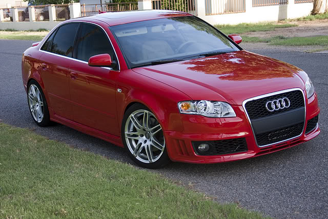 B7 Audi A4/S4 Front Bumper Options – Nick's Car Blog