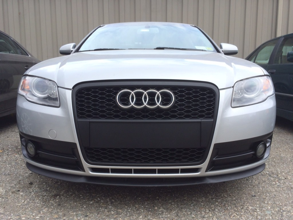 b7 audi a4 s4 front bumper options nick 39 s car blog. Black Bedroom Furniture Sets. Home Design Ideas