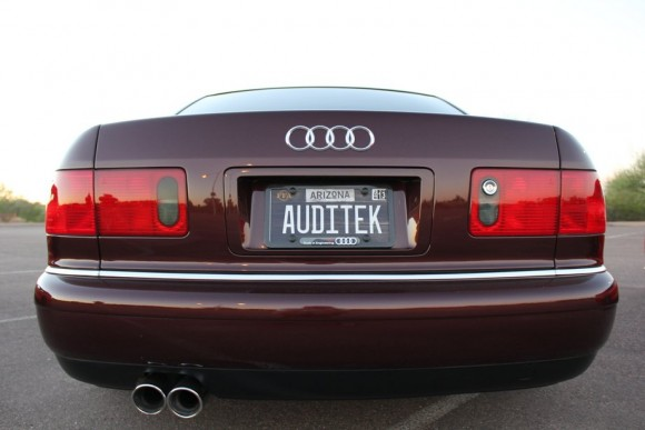 Audi A8 Rear