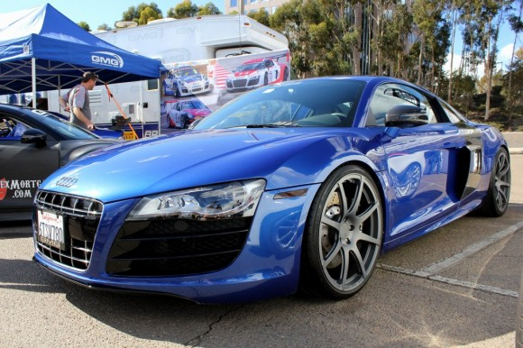 Audi R8 on GMG Wheels