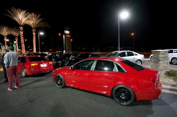 Brilliant Red B7 S4 - JHM Tuned