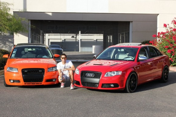Orange A3 and Red S4