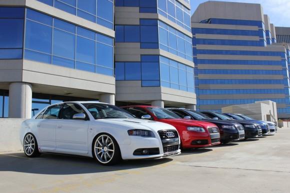 Audi Rooftop Photoshoot