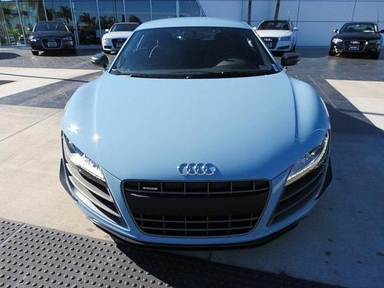 Meissen Blue Audi R8 GT
