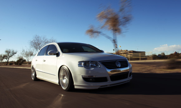 VW Passat Rolling Shot