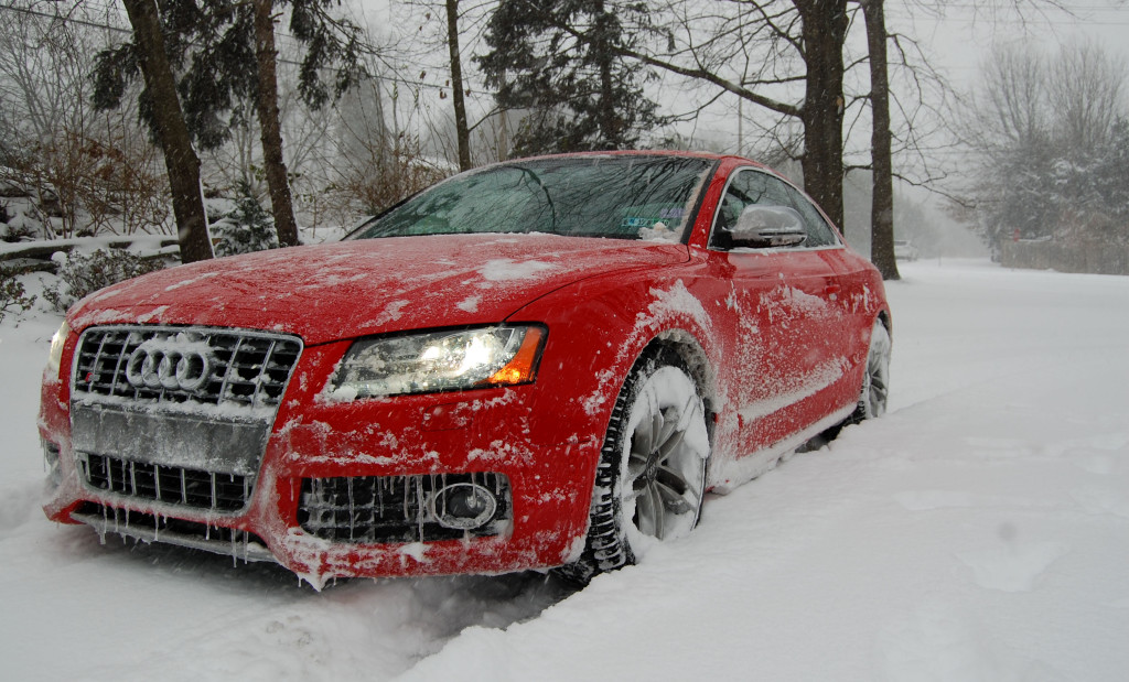 Audis Enjoying The Snow Nick S Car Blog