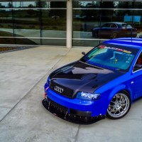 Justin&#8217;s Nogaro Blue B6 Audi S4 Race Car