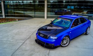Justin's Nogaro Blue B6 Audi S4 Race Car