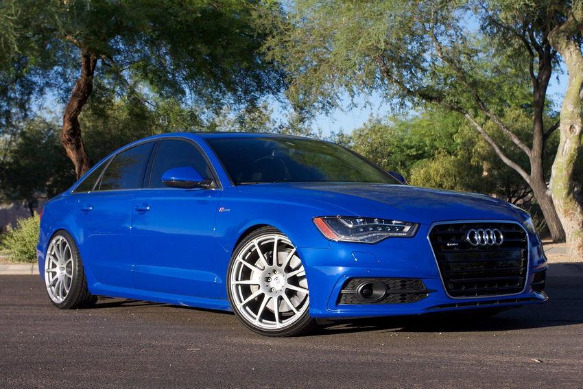 Nogaro Blue Audi A6 On Hre Wheels Nick S Car Blog