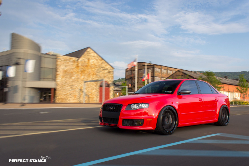 Flying Tomatoes Misano Red B7 Audi Rs4 On Adv1s Nick S