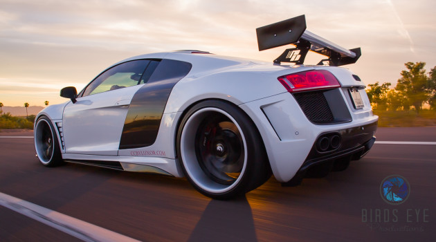 Video: Insane Audi R8 GT850 by Birds Eye Productions