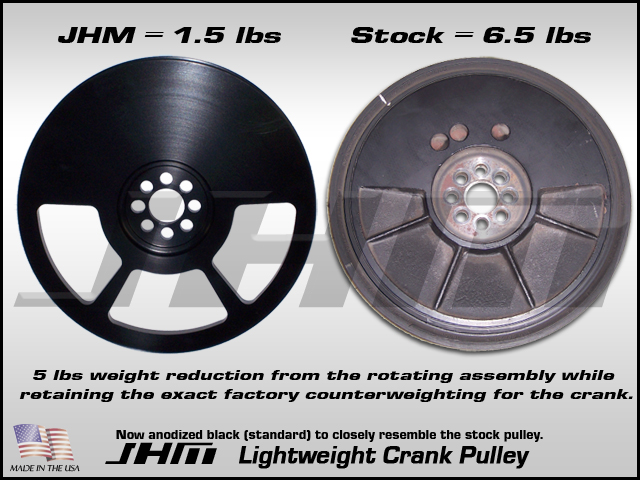 JHM Lightweight Crank Pulley
