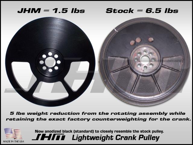 JHM Lightweight Crank Pulley