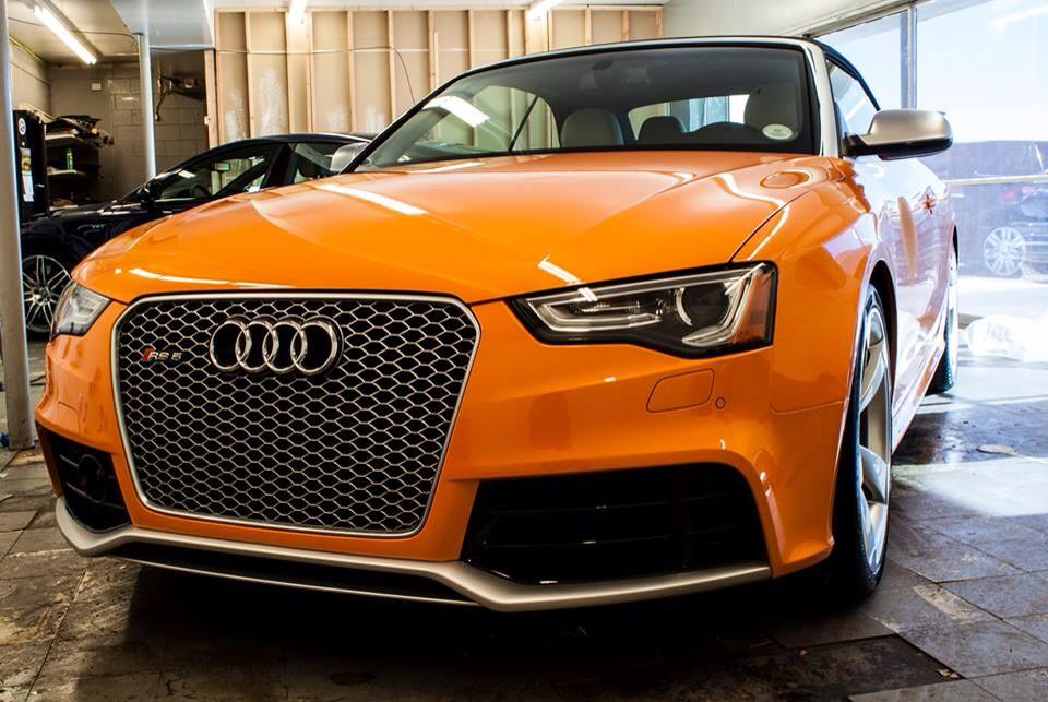 solar orange 2014 audi rs5 at prestige imports nick 39 s car blog. Black Bedroom Furniture Sets. Home Design Ideas