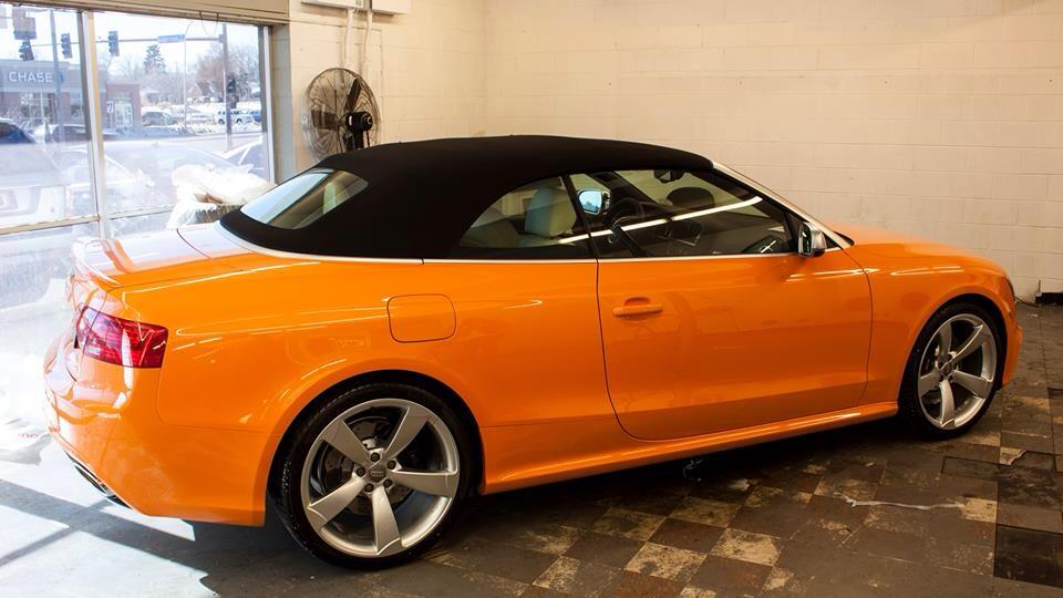 Solar Orange 2014 Audi Rs5 At Prestige Imports Nick S