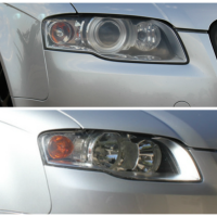 Halogen to Xenon Conversion for B7 Audi A4s (2005.5-2008)