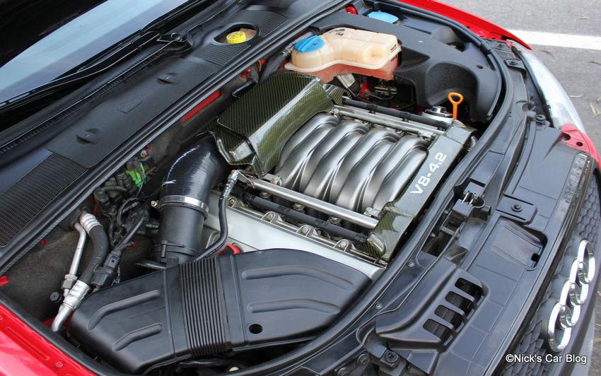 B6/B7 Audi S4 Carbon Fiber Engine Covers + R8 Oil Cap ...