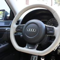 oCarbon Flat Bottom CF Steering Wheel Trim